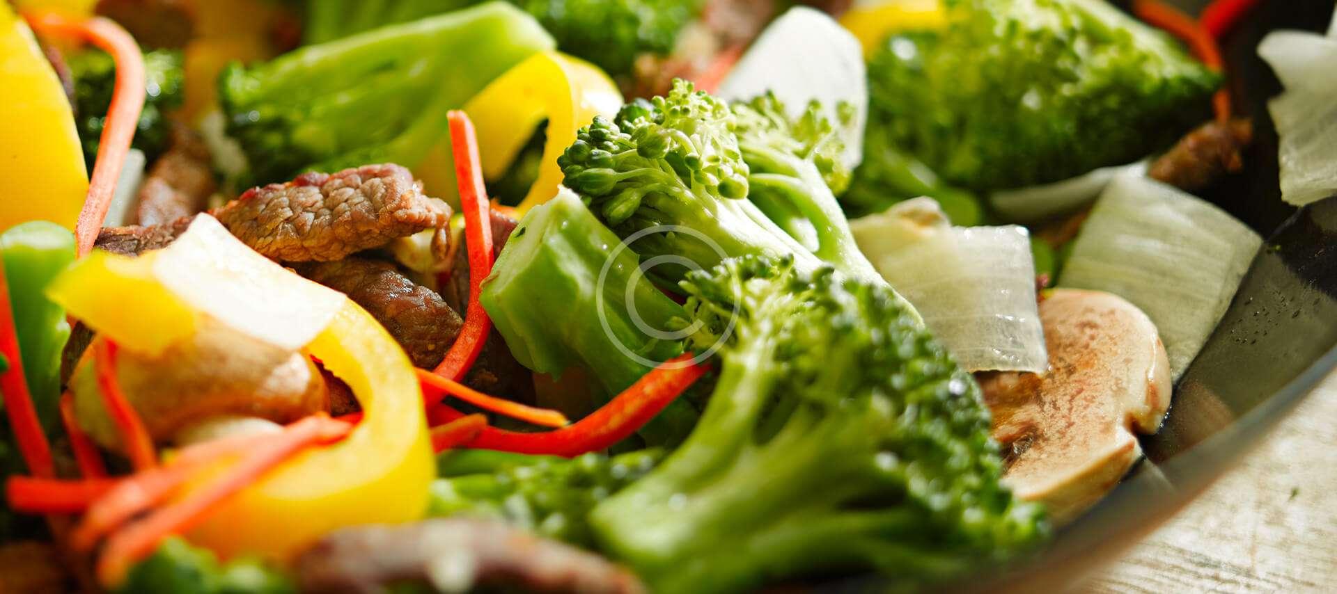 Broccoli Salad with Sour Cream Dressing